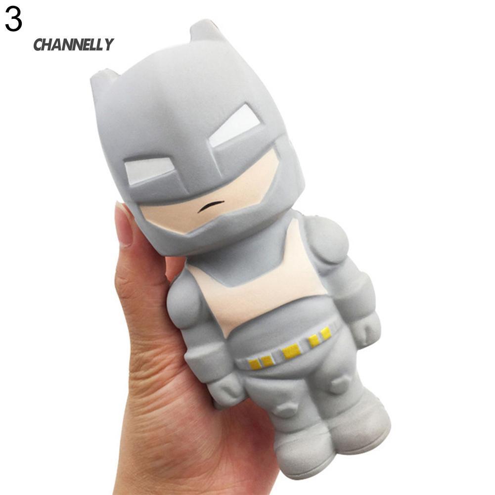 ■Cy Super Hero Spiderman Iron Man Batman Superman Squeeze Squishy Rising Toy