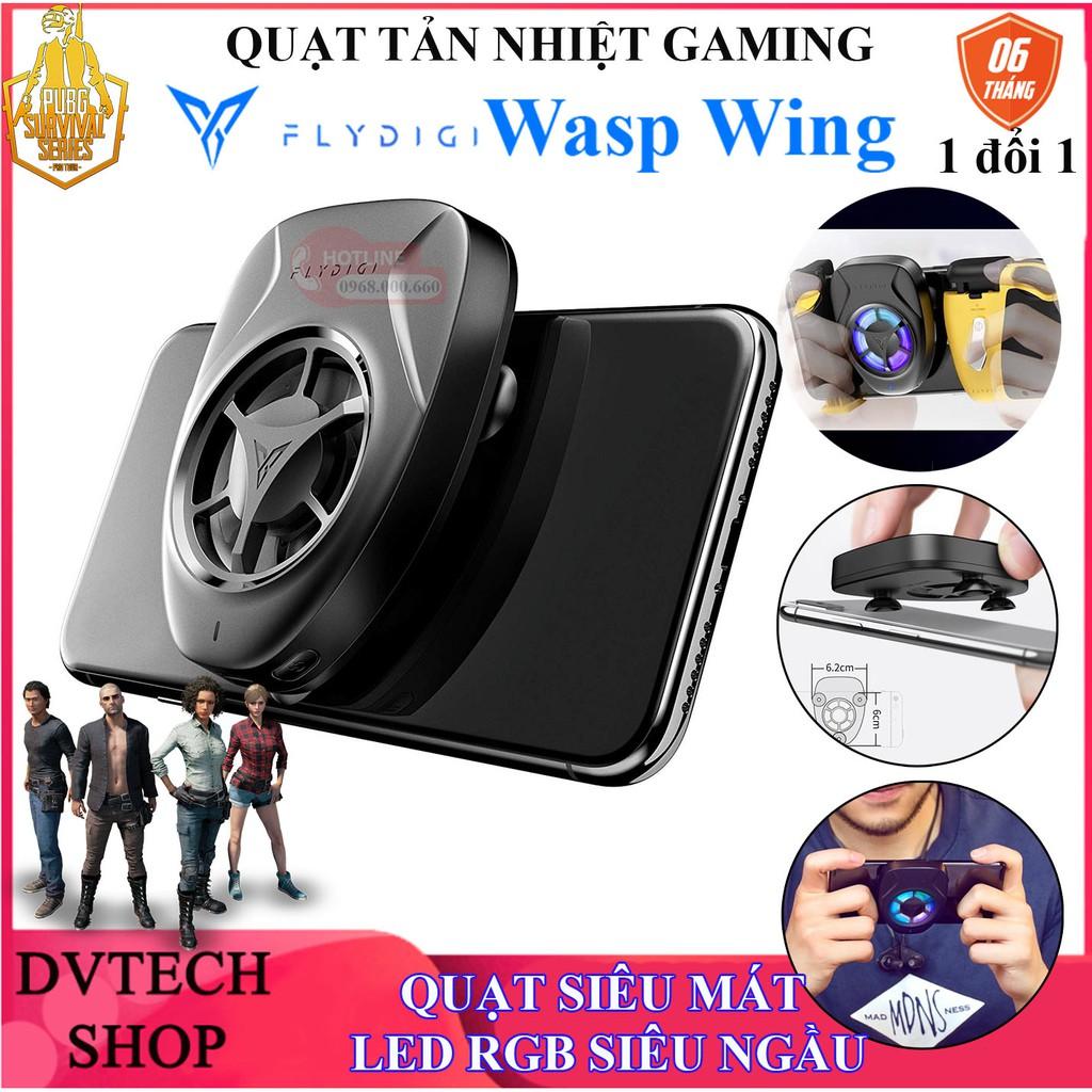 [PHIÊN BẢN MỚI] Flydigi Wasp Wing | Quạt tản nhiệt gaming cho điện thoại, siêu mát, LED RGB siêu ngầu