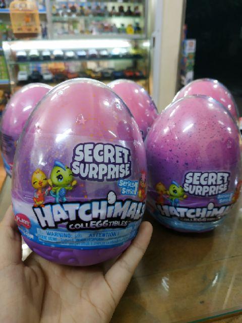 Trứng khổng lồ Hatchimals Secret Surprise