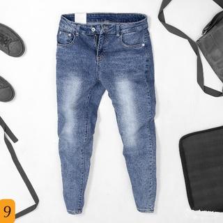 Quần jean nam cao cấp, chất liệu jean ( bò ) mềm mịn, from chuẩn, có nhiều mẫu đi đẹp kèm gutaha01