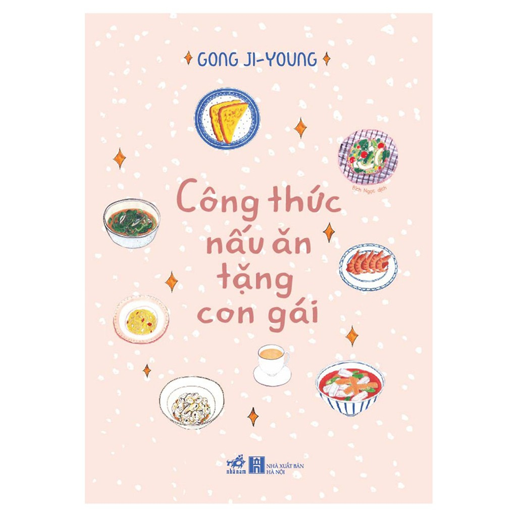 Sách - Công thức nấu ăn tặng con gái