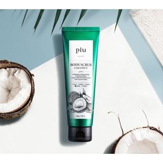Tẩy Tế Bào Chết Toàn Thân Tinh Chất Dừa Plu Body Scrub Coconut 200g-1