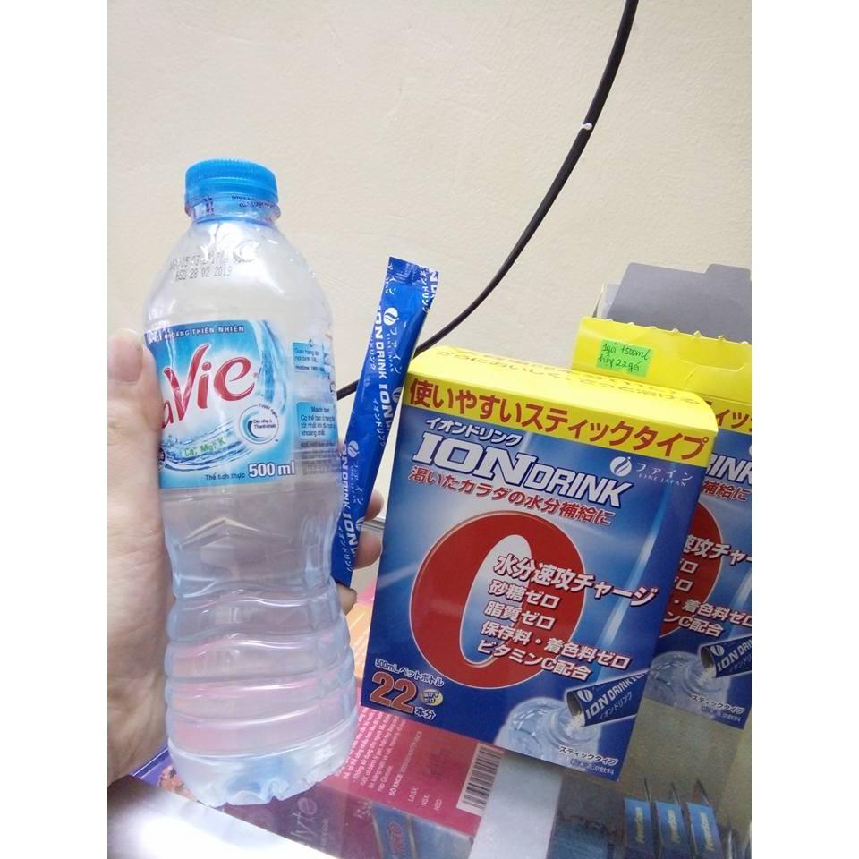 ION DRINK Gói Pha Uống Bù Nước Và Điện Giải Hộp 22 Gói Hàng Xách Tay