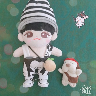 Outfit yếm mickey cho doll