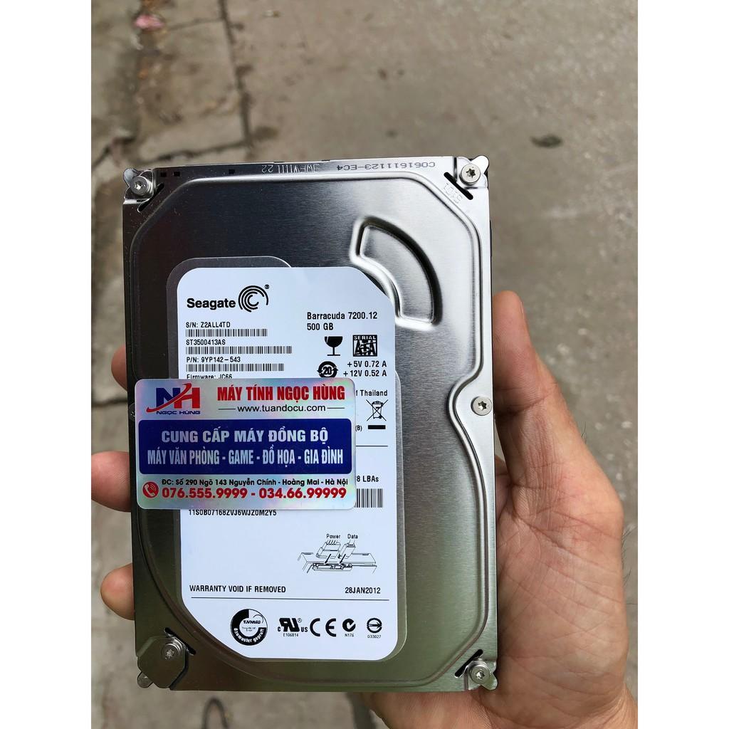 ổ cứng HDD Seagate BarraCuda 500Gb 7200RPM Giá chỉ 330.000₫