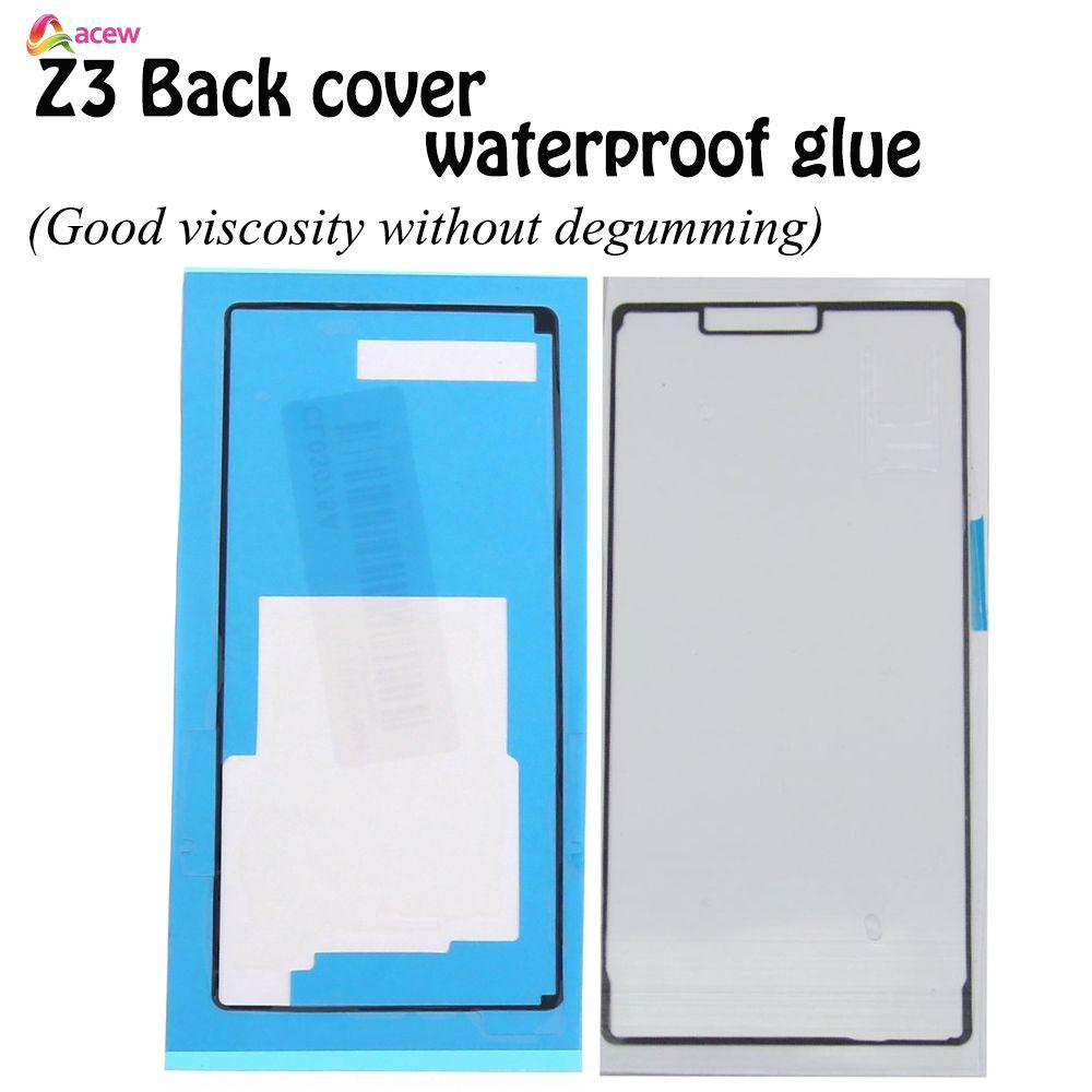 ✪Mobile Accessories*COD✪ Back Case Frame Middle Battery Cover Sticker Tape Glue For Sony Xperia Z3 D6603