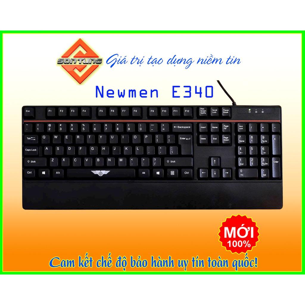 Bàn phím kết nối dây Newmen E340 - chính hãng