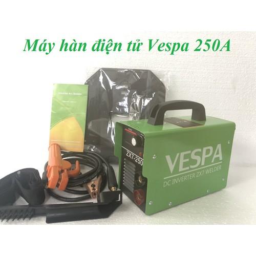 Máy hàn que điện tử ZX7-250A VESPA - may han dien tu thế hệ mới