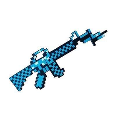 Súng Minecraft Diamond Đồ Chơi
