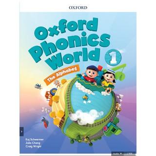 Bộ sách Ebook tương tác Oxford Phonics World 1,2,3,4 cho bé học phát âm tiếng anh.