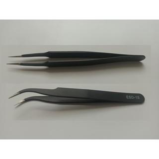 Nhíp nail – nhíp gắp đá đen cong thẳng VETUS