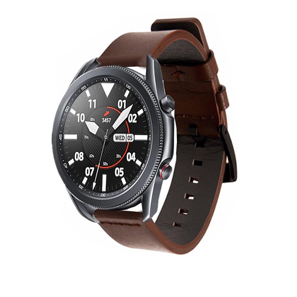 Dây Đeo Bằng Da Thật 22mm Cho Đồng Hồ Thông Minh Samsung Galaxy Watch 3 45mm Band 22mm