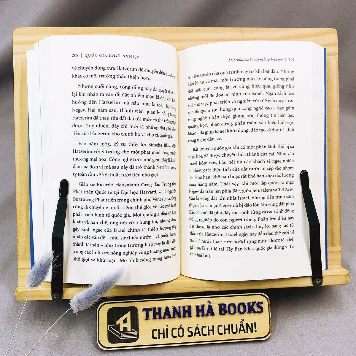 Sách - Quốc Gia Khởi Nghiệp - Câu Chuyện Về Nền Kinh Tế Thần Kỳ Của Israel