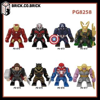 (CÓ SẴN) PG8258 Đồ chơi lắp ráp minifigure nhân vật lego siêu anh hùng super heroes của marvels dc loại khổng lồ.