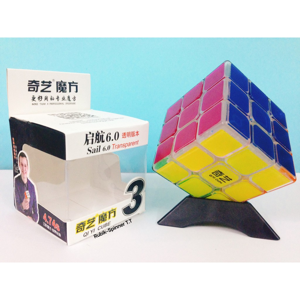 Rubik 3x3 - QiYi Sail 6.0 cm 3x3x3