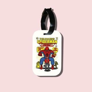 Travel tag cho túi xách balo du lịch in hình The Amazing Spiderman thumbnail