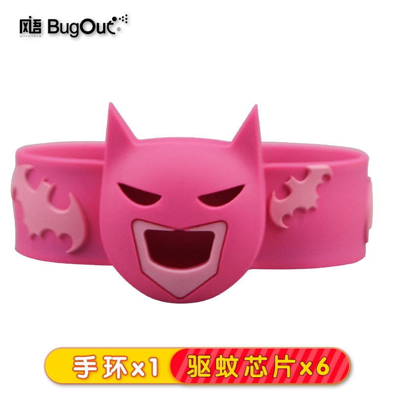 △✿Wind language new mosquito repellent bracelet adult baby child anti-mosquito buckle watch Oracle with outdoor sticker