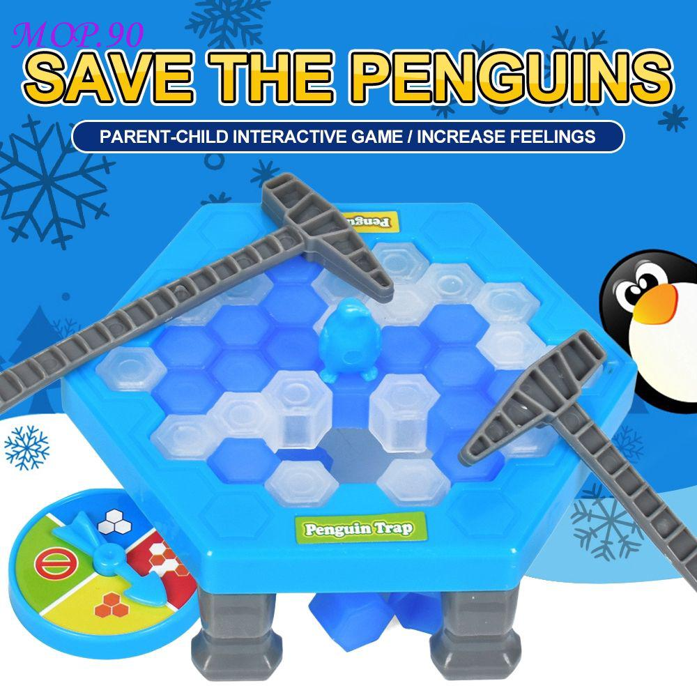 MOP Mini Penguin Trap Board Game Ice Breaking Interactive Entertainment Table Toys MOP