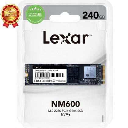 Ổ cứng SSD M2-PCIe 240GB Lexar NM600 NVMe 2280 Giá chỉ 1.049.000₫