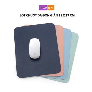 Lót Chuột Da Đơn Giản ( Mouse Pad ), Không Thấm Nước, Sử Dụng Được 2 Mặt, 270 X 210 mm thumbnail