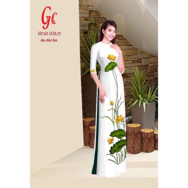 Vải áo dài hoa sen - 3021542 , 550603668 , 322_550603668 , 220000 , Vai-ao-dai-hoa-sen-322_550603668 , shopee.vn , Vải áo dài hoa sen