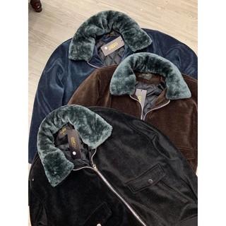 Áo khoác cổ lông trần bông 4 lớp