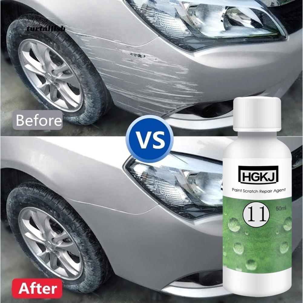 TUR♥Liquid Car Scratches Remover Repair Polishing Wax Paint Care Surface Coating