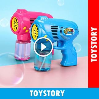 [ToyStory] Súng Bắn Bong Bóng Xà Phòng 5 Nòng Cỡ Lớn Trẻ Em Đồ Chơi Thông Minh Trẻ Em (Kèm Nước Xà Phòng
