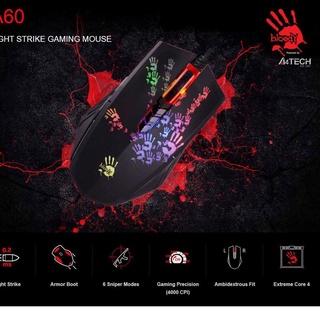 Dải dây BLOODY GAMING MOUSE A60 6Qw thumbnail