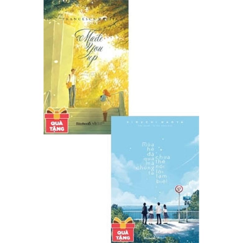 [ Sách ] ComBo Mùa Hè Đã Qua Mà Chúng Ta Chưa Thể Nói Lời Tạm Biệt - Made You Up - Tặng Kèm 1 Bookma
