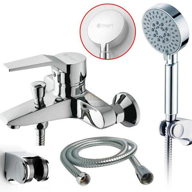 08/12 Deal 9K - FOLLOW Shop - Bộ vòi sen tắm nóng lạnh 5 chế độ nước C
