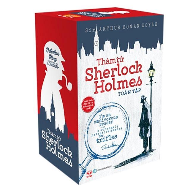 Bộ sách Thám Tử Sherlock Holmes Toàn Tập (Trọn Bộ 3 Tập) - Tác giả: Sir Arthur Conan Doyle