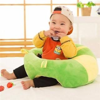 GHẾ SOFA TẬP NGỒI - ĂN DẶM CHO BÉ - GỐI ÔM CHO BÉ từ 6 tháng đến 3 tuổi ,cho bé tập ngồi thumbnail