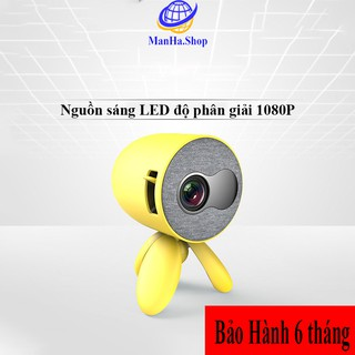 Máy chiếu mini thương hiệu LejiaDa độ phân giải 1080P, Máy phân giải hình ảnh chất lượng cao, Bảo Hành 6 tháng