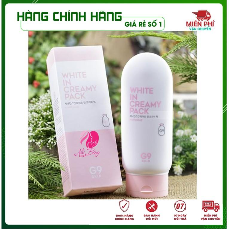 Kem dưỡng thể - Kem dưỡng ẩm dưỡng trắng da body toàn thân G9 Hàn Quốc