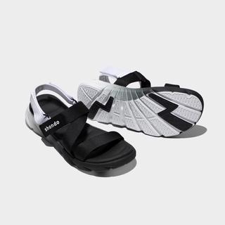 [Ảnh thật] Sandals F6 Sport ombre đế 2 màu đen trắng F6S0110 mẫu mới nhất