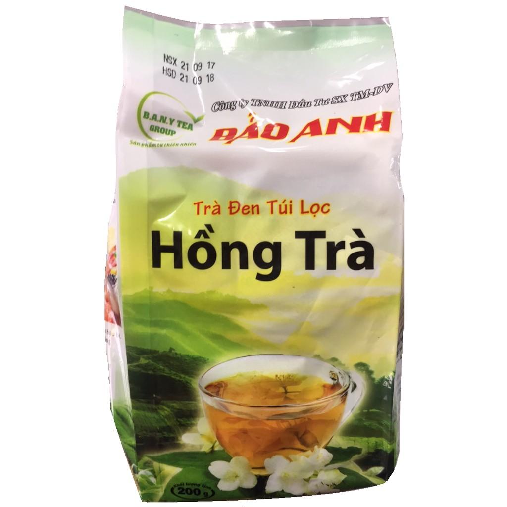 Hồng Trà Đen Túi Lọc Bảo Anh Pha Trà Sữa 200g