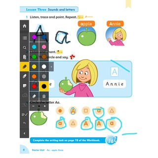 Sách Ebook tương tác Family and Friend Starter học tiếng anh cho bé.