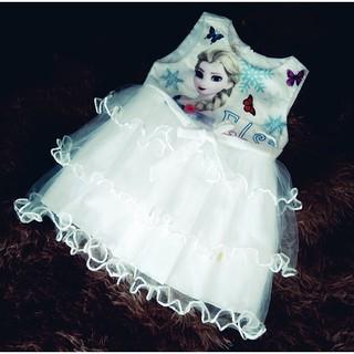 Váy Elsa siêu đáng yêu