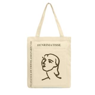 TúI Vải Tote Bag XinhStore Đeo Vai Mặt Méo thumbnail