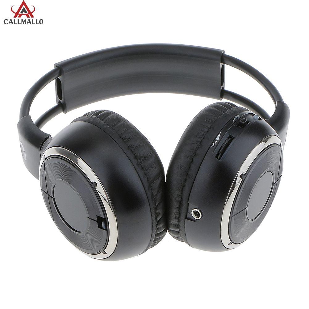 COOLMALL Universal IR Infrared Headphone Wireless Stereo Car Headphones Headset