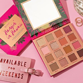 Bảng phấn mắt BH Cosmetics Hangin in Hawaii 16 ô sale 70% (bill web) thumbnail