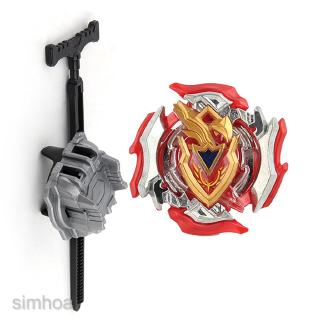 Brand New and High Quality Spinning Top Toy Set Metal Fusion 4D Fight Red