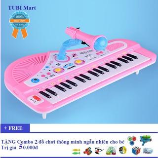 Đàn Piano 37 phím kèm micro hát cho bé