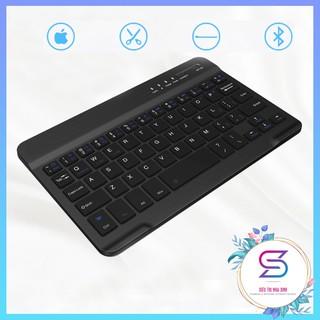 Bàn Phím Bluetooth Mini Cho Điện Thoại, Laptop Cực Tiện Lợi, Pin Dùng 7-8h Liên Tục, Có Thể Sạc Pin thumbnail