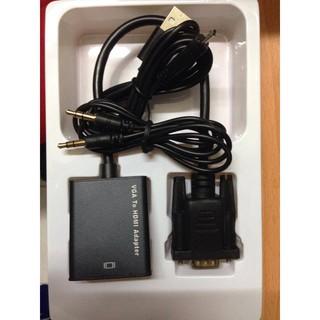 cáp chuyển đổi VGA sang HDMI Có Audio – Hàng chất lượng – VGA TO HDMI