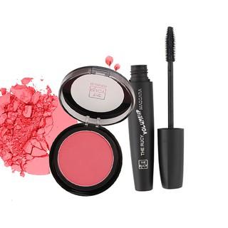 Bộ sản phẩm Trang Điểm Phấn Má Hồng The Rucy 1 6g và Mascara black The Rucy 12g