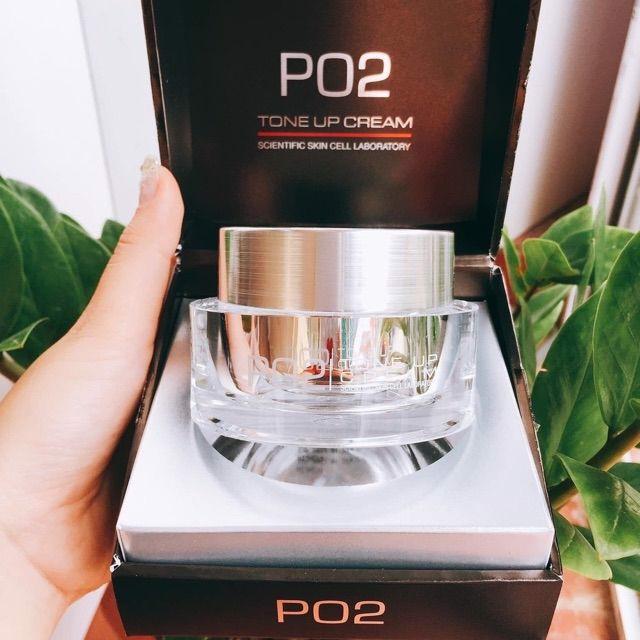 [ Chính Hãng ] Kem Váng Sữa PO2 Tone Up Cream Siêu Trắng Mượt Hàng Chuẩn Korea