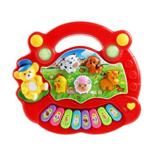 [NICE]Baby Kids Plastic Music Toys Play Knock Hit Hamster Game Educational Toys