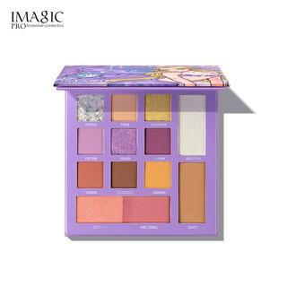 Hình ảnh Bảng phấn IMAGIC 13 màu trang điểm đa năng sành điệu-6